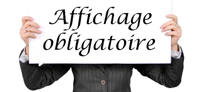 Affichage Obligatoire Liste Des Documents 2019 Rue De La