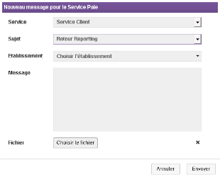 message module reporting