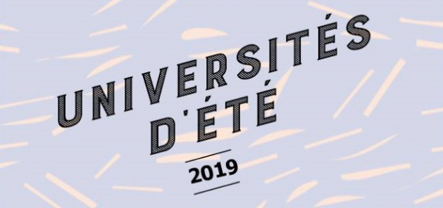 Universités d'été OEC IDF 2019