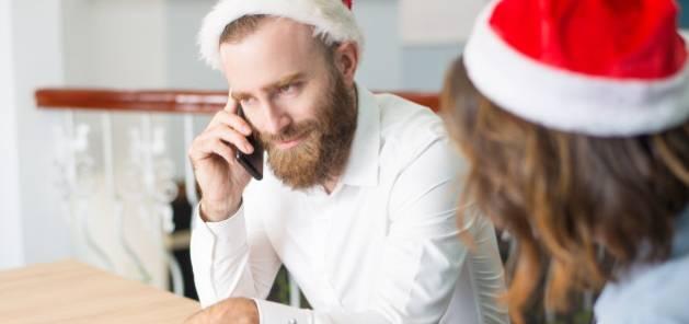 La fermeture de l'entreprise pendant les fêtes de Noël
